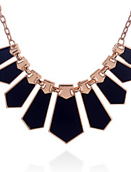 cheap -Women's Pendant Necklace Statement Necklace  -  Fashion Irregular Black Necklace For Party Daily Casual