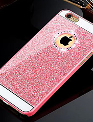 economico -Per iPhone 8 iPhone 8 Plus Custodia iPhone 5 Custodie cover Con diamantini Custodia posteriore Custodia Glitterato Resistente PC per