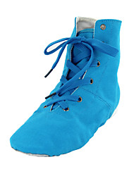 cheap -Men's / Women's Belly Shoes / Ballet Shoes / Dance Sneakers Fabric Boots Flat Heel Non Customizable Dance Shoes Blue / Indoor / Practice