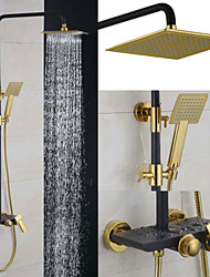 cheap -Shower Faucet Contemporary Rain Shower/Handshower Included Brass Chrome