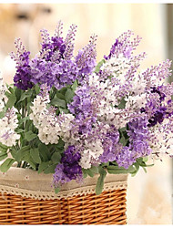 cheap -1 Bouquet 3 clor Silk Lavender Wedding decoration Artificial Flowers
