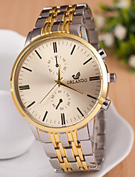 cheap -Women's Fashion Watch Quartz Alloy Band Vintage Gold