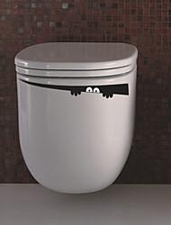 billige -Dyr Romantik Mode Former Jul Ferier Tegneserie Vægklistermærker Fly vægklistermærker Dekorative Mur Klistermærker Toilet klistermærker,