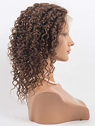 "cheap -10""-26"" Brazilian Virgin Hair  100% Human Hair Lace Wigs Curly hair Lace Wigs"