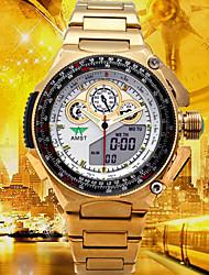 Недорогие -Муж. Армейские часы Нарядные часы Модные часы электронные часы Спортивные часы Японский Кварцевый Цифровой Будильник Календарь Защита от