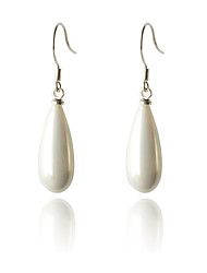 cheap -Women's Drop Earrings Fashion Costume Jewelry Pearl Silver Plated Drop Jewelry For Party Daily Casual
