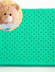 Frand Texture Grain Printing Baking DIY Silicone Chocolate Sugar Cake Mold Color Random