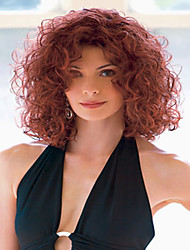 cheap -Wine Red Lady Women Cheap Price Synthetic  Wig To European And America