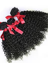 abordables -3 offres groupées Cheveux Malaisiens Bouclé / Tissage bouclé Cheveux humains Tissages de cheveux humains Tissages de cheveux humains Extensions de cheveux humains