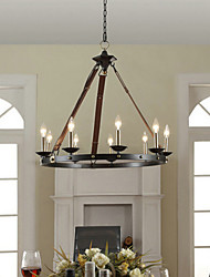 cheap -Chandeliers Vintage Bedroom / Dining Room / Entry / Hallway Metal