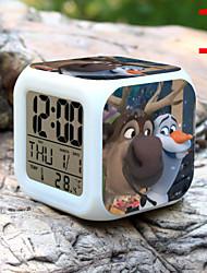 Недорогие -высокое качество творчески красочных небольшой будильник привело электронные подарки / мультфильм будильник