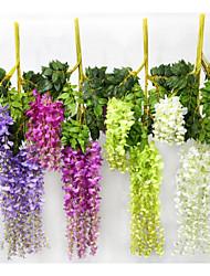 Недорогие -Искусственные Цветы 1 Филиал Пастораль Стиль Колокольчик Цветы на стену