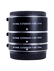 KOOKA KK-FT47A AF Aluminium Extension Tubes Set for Olympus Panasonic Micro 4/3 System  (10mm,16mm,21mm) Cameras