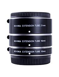 kooka kk-ft47a af Aluminium Verlängerungsrohre für Olympus Panasonic micro 4/3 System (10mm, 16mm, 21mm) Kameras eingestellt