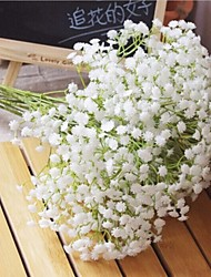 cheap -Artificial Flowers 6 Branch Pastoral Style Baby Breath Tabletop Flower
