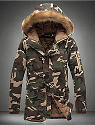 economico -MEN - Giacche e cappotti - Informale Felpa con cappuccio - Maniche lunghe Cotone