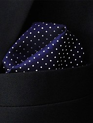 cheap -Men's Work Necktie - Polka Dot Color Block Basic