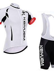 ILPALADINO Cycling Jersey with Bib Shorts Unisex Short Sleeves Bike Clothing Suits Waterproof Quick Dry Windproof Insulated Rain-Proof