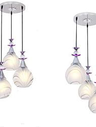 billige -3-Light Vedhæng Lys Op Lys Malede finish Metal Keramik LED 110-120V / 220-240V Varm Hvid Pære ikke Inkluderet / E26 / E27
