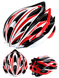 cheap -Adults Bike Helmet N / A Vents Impact Resistant, Adjustable Fit EPS, PC Road Cycling / Climbing / Mountain Bike / MTB - White+Red / Black+Sliver / Red+Blue