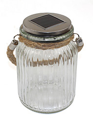 Solar Sun Jar LED Light for Glass Jars and Garden Decor Solar Lamp