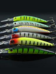 cheap -6 pcs Fishing Lures Minnow Hard Bait Hard Plastic Sea Fishing Trolling & Boat Fishing General Fishing