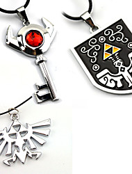 cheap -Jewelry Inspired by The Legend of Zelda Cosplay Anime/ Video Games Cosplay Accessories Necklaces Alloy Men's Women's