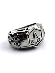 cheap -Jewelry Inspired by Assassin Connor Anime/ Video Games Cosplay Accessories Ring Alloy Men's