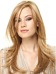 cheap -Synthetic Wig Straight Women's Capless Medium Synthetic Hair