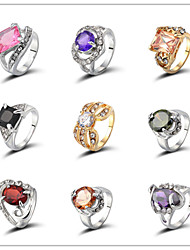 cheap -Women's Ring - Stylish Random Color Ring For Wedding / Party / Evening