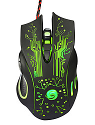 cheap -Wired Gaming Mouse DPI Adjustable Backlit Programmable 5500