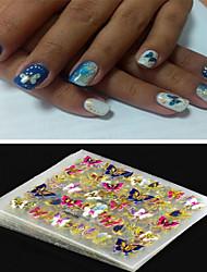 Недорогие -4 Украшения для ногтей 3D-стикеры для ногтей Мода Панк Повседневные Высокое качество
