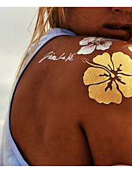 9 Tatuagens Adesivas Outros não tóxica EstampadoFeminino Masculino Adulto Flash do tatuagem Tatuagens temporárias