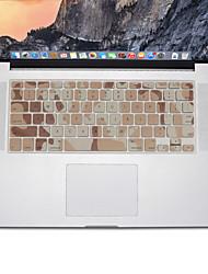 preiswerte -Camouflage-Design Silikontastatur-Abdeckungshaut für macbook Luft 13.3, MacBook Pro mit Retina 13 15 17 US-Layout