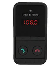 Недорогие -Беспроводная связь Bluetooth автомобильный комплект громкой связи FM-передатчик