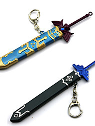 Arma / Spada Ispirato da The Legend of Zelda Cosplay Anime/Videogiochi Accessori Cosplay Spada Blu / Grigio Lega Uomo