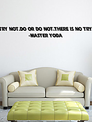 cheap -W-16Star Wars Wall Art Sticker Wall Decal DIY Home Decoration Wall Mural Removable Bedroom Sticker