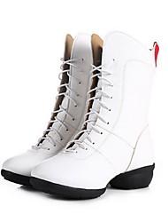 Scarpe da ballo - Non personalizzabile - Donna - Moderno - Senza tacco/Ballerina - Eco-pelle - Nero / Rosso / Bianco