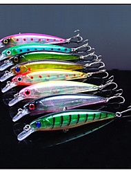 cheap -8 pcs Fishing Lures Minnow Hard Bait Hard Plastic Sea Fishing Trolling & Boat Fishing General Fishing