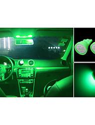 Недорогие -высокой мощности 10 х зеленый глыбы T10 194 168 главе 12v инструмент тире лампочки