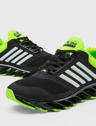 Rennen Herren Schuhe Kunststoff / Tüll Grün / Rot