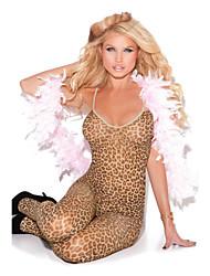 Female Fetal Leopard Body Stockings