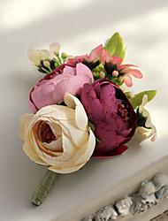Недорогие -свадебные цветы бесплатные формы розы boutonnieres свадебные аксессуары