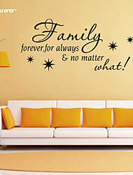 AWOO®  Family Home  Wall Sticker DIY Home Decorations Quotes Vinyl Wall Decals Wall Mural Art