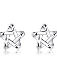 cheap -Men's Women's Stud Earrings Sterling Silver Jewelry For Wedding Party Daily