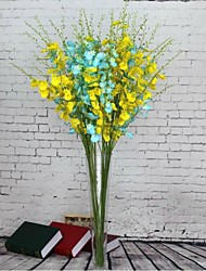 High Quality Big Dancing Orchid Simulation Flower Artificial Fiower