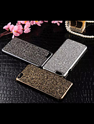 cheap -Case For Apple iPhone 6 iPhone 6 Plus Rhinestone Back Cover Glitter Shine Hard Metal for iPhone 6s Plus iPhone 6s iPhone 6 Plus iPhone 6