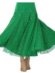 preiswerte -Für den Ballsaal Balletröckchen und Röcke Damen Vorstellung Milchfieber Drapiert 1 Stück Rock