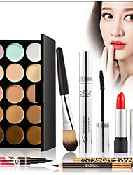 cheap -2016 New 7Pcs Luxurious Makeup Sets Make Up Cosmetics Gift Set Tool Kit Best Gift With Makeup Bag