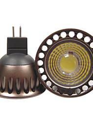 GU5.3(MR16) Lâmpadas de Foco de LED R63 1 leds COB Decorativa Branco Quente Branco Frio 400lm 3000/6000K DC 12 AC 12 AC 110-130V